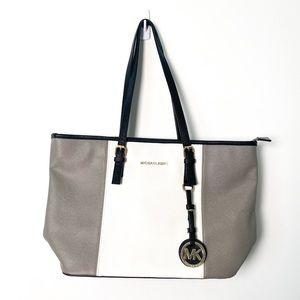 Michael Kors Jet Set Saffiano Leather Tote Bag